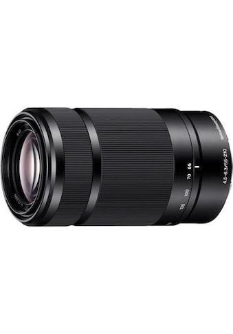 Sony Teleobjektiv »SEL-55210« kaufen