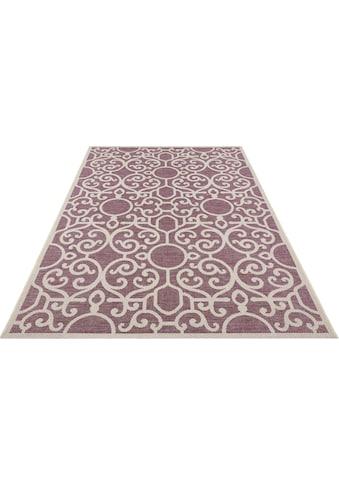 bougari Teppich »Nebo«, rechteckig, 4 mm Höhe, Flachgewebe, In- und Outdoor geeignet,... kaufen