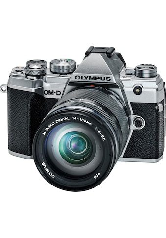 Olympus »OM - D E - M5 Mark III« Systemkamera (M.Zuiko Digital ED 14 - 150mm F/4 - 5.6, 20,4 MP, Bluetooth NFC) kaufen