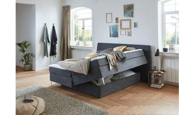 Premium collection by Home affaire Boxspringbett »Linda«, mit unsichtbarem Bettkasten,... kaufen