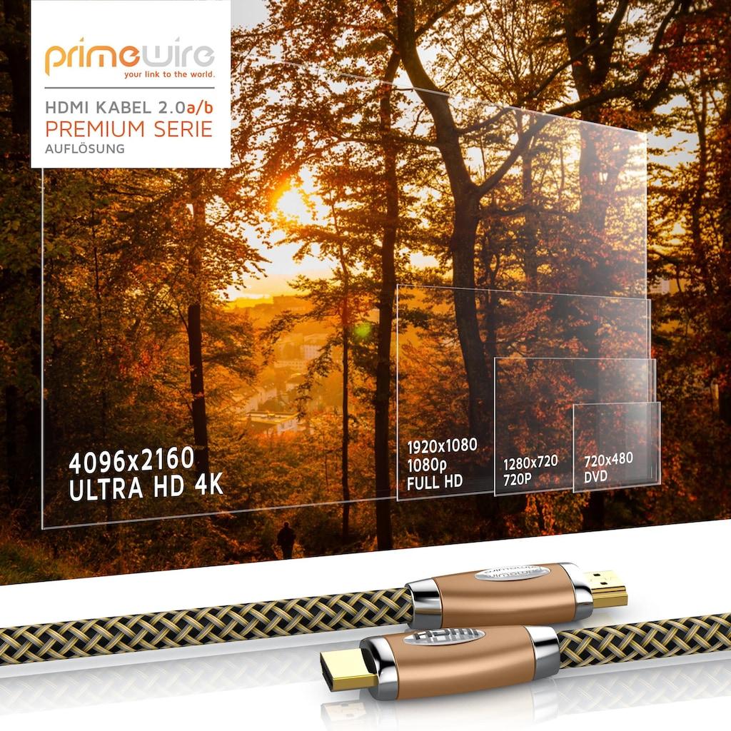 Primewire Premium HDMI 2.0 Kabel mit 4k Ultra HD 2160p