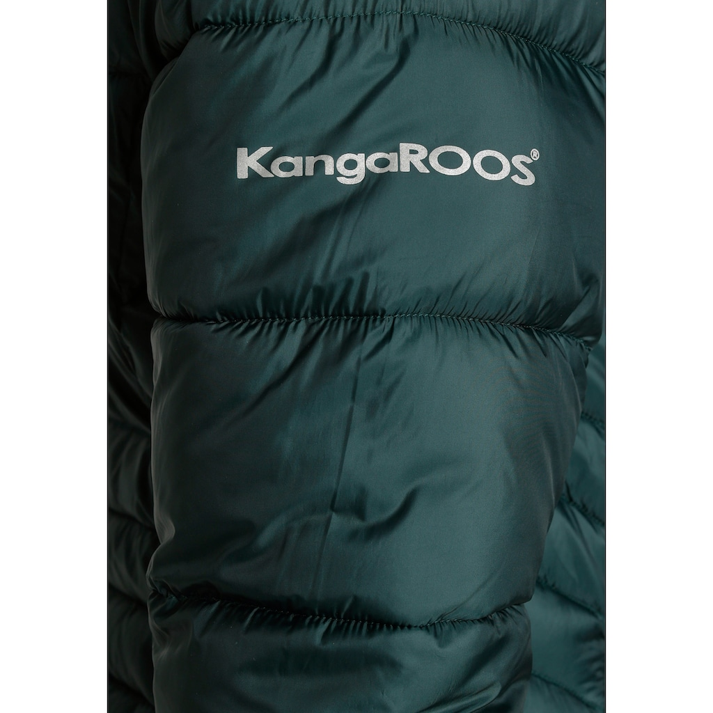 KangaROOS Steppmantel, mit abnehmbarer Kapuze