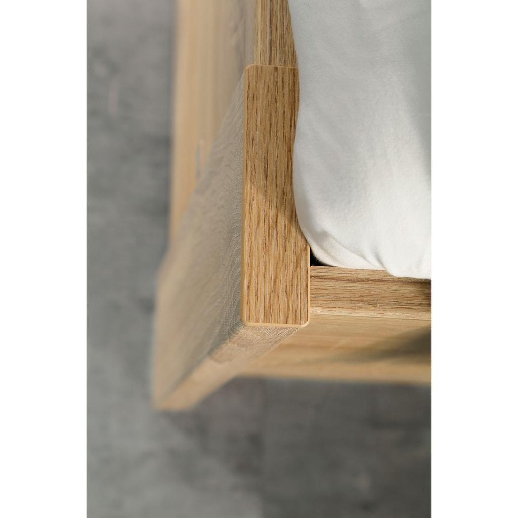 rauch ORANGE Futonbett »Aditio«, Kopfteil Webstoff mit abgesetztem Keder