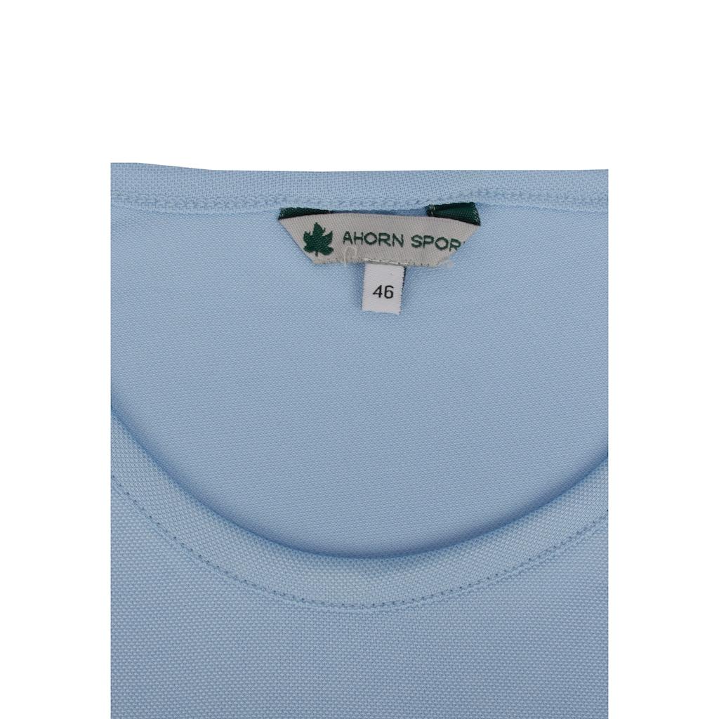 AHORN SPORTSWEAR Funktions T-Shirt mit Rundhalsausschnitt