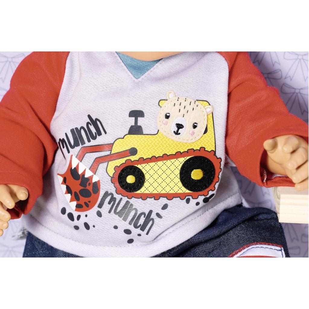 Zapf Creation® Puppenkleidung »Dolly Moda Hose mit Sweatshirt 39-46 cm«