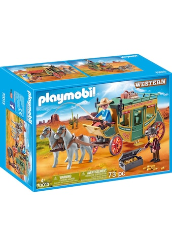 "Playmobil® Konstruktions - Spielset ""Westernkutsche (70013), Western"", Kunststoff kaufen"
