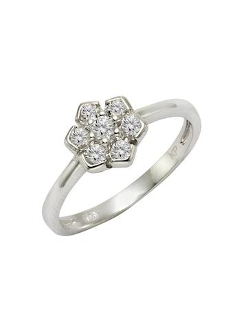 Zeeme Fingerring »925/- Sterling Silber Zirkonia weiß«, Ring kaufen