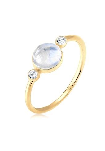 Elli Fingerring »Geo Trend Blogger Edelstein Zirkonia 925 Silber« kaufen