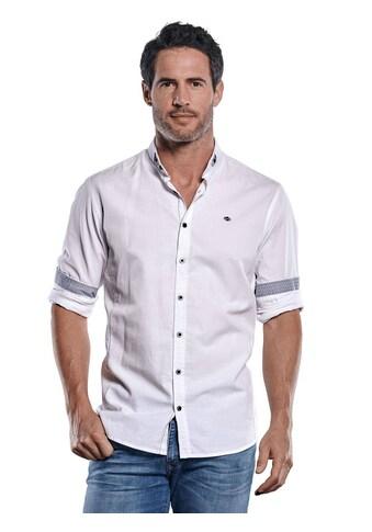 Engbers Unifarbenes Langarmhemd mit modischen Designdetails kaufen