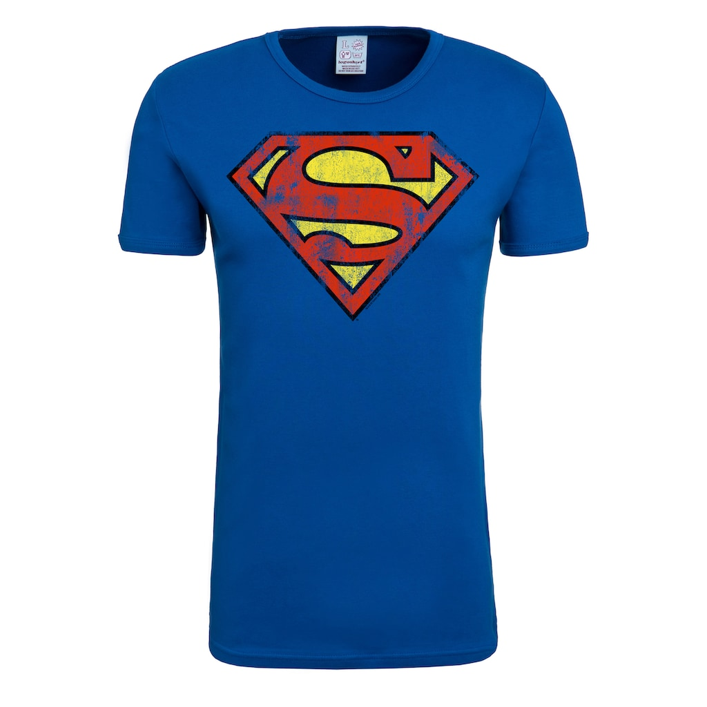 LOGOSHIRT T-Shirt mit lässigem Retro-Print