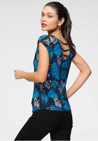 Melrose Rundhalsshirt, mit Rückendetail kaufen