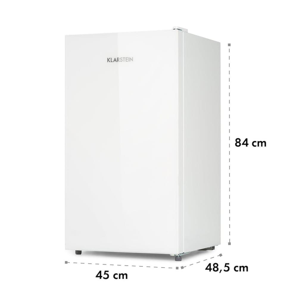 Klarstein Luminance Frost Kühlschrank 91l Crisper-Fach 2 Glas