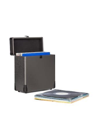 Auna Vinylbox Alu Plattenkoffer für bis zu 30 Schallplatten »Vinylbox Alu« kaufen