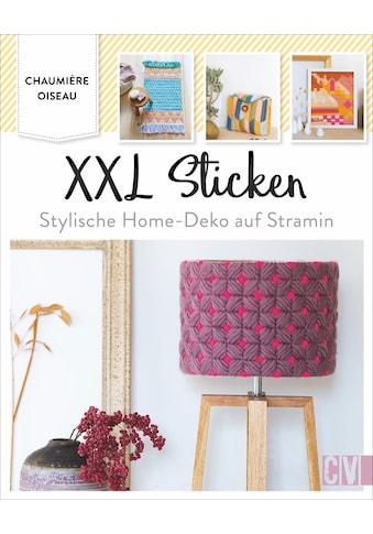 Buch »XXL Sticken / Chaumière Oiseau, Katrin Korch« kaufen