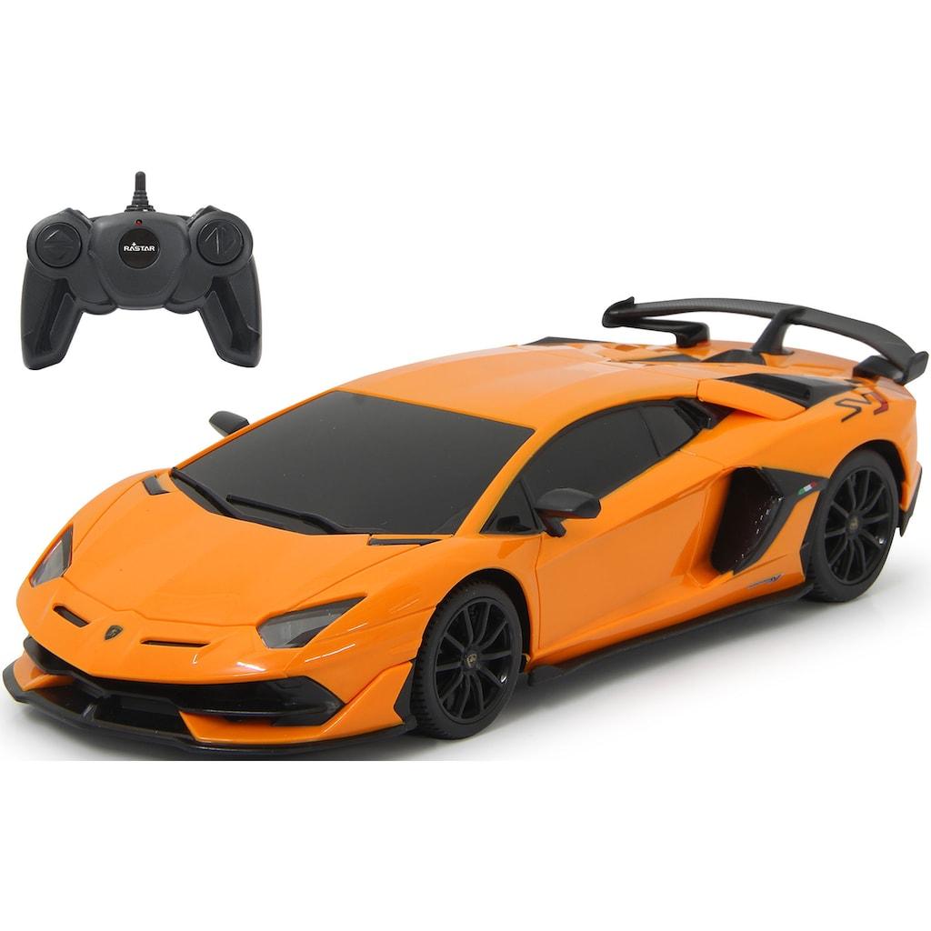 Jamara RC-Auto »Lamborghini Aventador SVJ 1:24 - 40 MHz, orange«