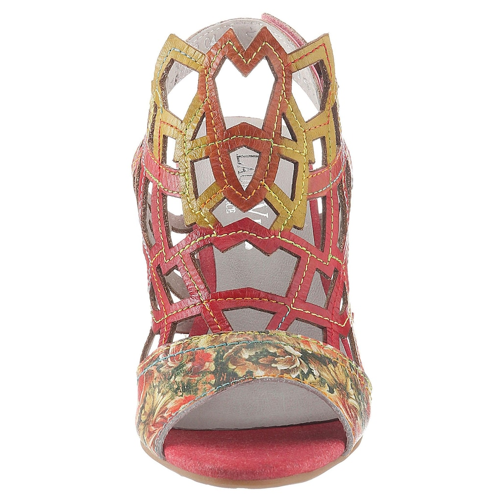 LAURA VITA Sandalette »Hackio«, mit Blütenprint