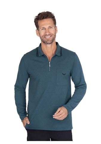 Trigema Langarm Poloshirt kaufen
