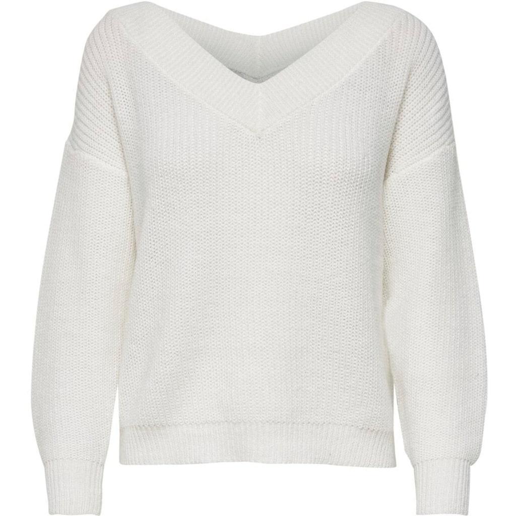 Only V-Ausschnitt-Pullover »ONLMELTON«