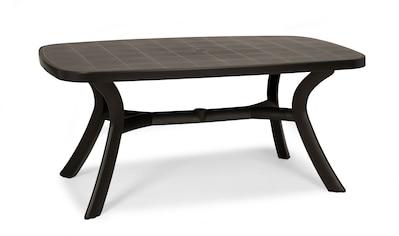 BEST Gartentisch »Kansas«, Kunststoff, 192x105 cm, anthrazit kaufen