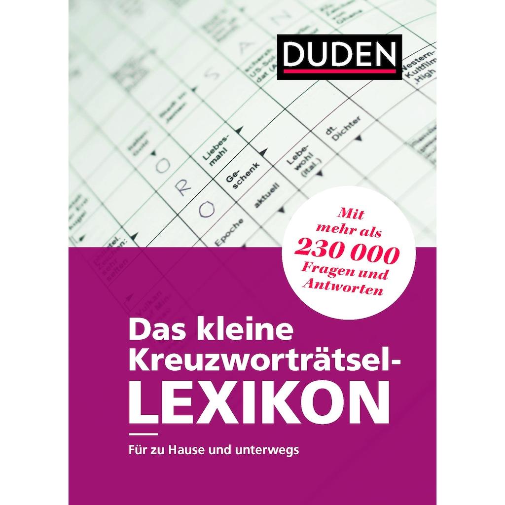 Buch »Das kleine Kreuzworträtsel-Lexikon / Dudenredaktion«