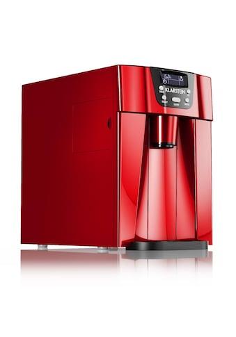 Klarstein Eismaschine Eiswürfelmaschine Ice Maker Eiswürfelbereiter 12kg/T »Ice Volcano 2G« kaufen