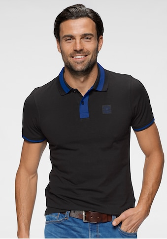 TOM TAILOR Polo Team Poloshirt, mit kontrastfarbenen Details kaufen
