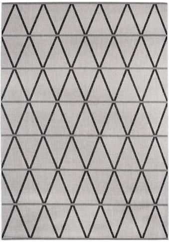 Andiamo Teppich »New Orleans 1«, rechteckig, 5 mm Höhe, Flachgewebe, Rauten Design,... kaufen