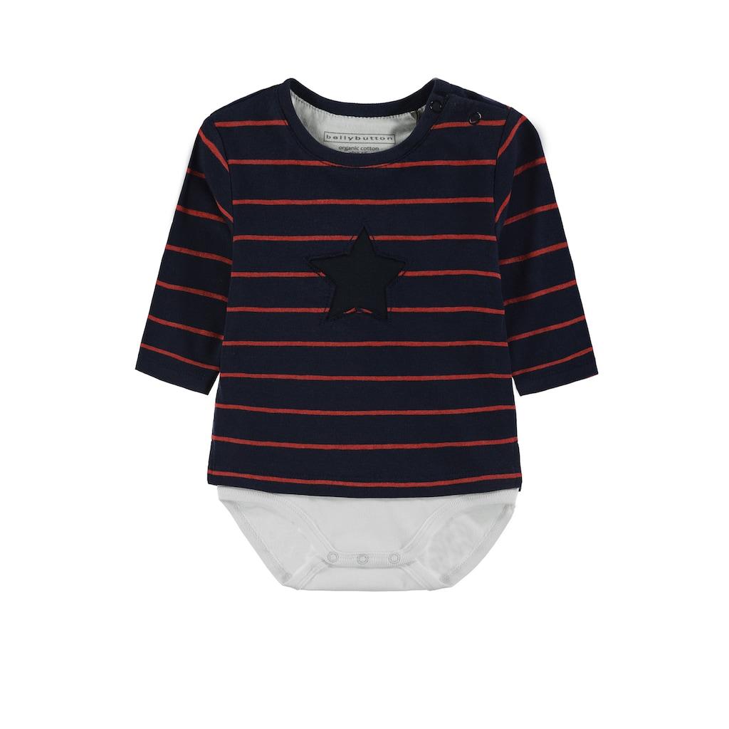 Bellybutton Body, Body Shirt 2in1 langärmlig
