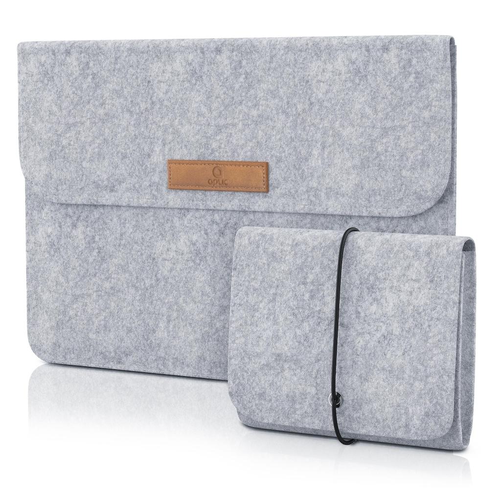 """Aplic 13,3"""" Notebooktasche inkl. Mini-Tasche und Zubehör-Fächern"""