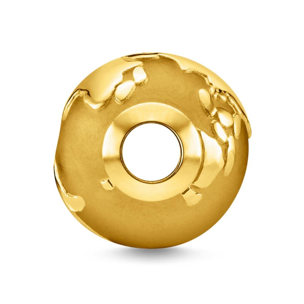 THOMAS SABO Bead »Weltkugel gold, K0346-413-39«