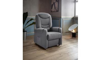 Places of Style TV - Sessel »Tamworth«, in Größe S, wahlweise mit Motor und Aufstehhilfe kaufen