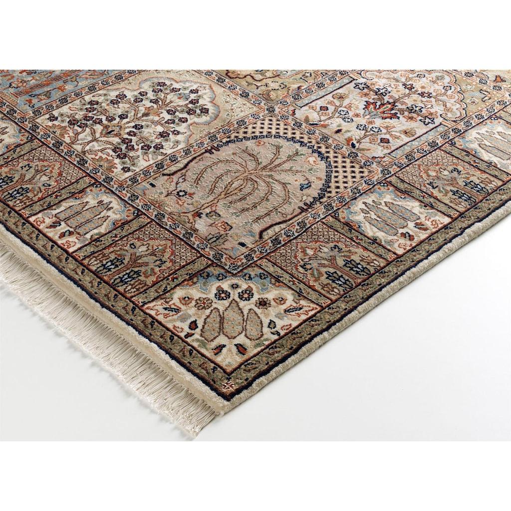 OCI DIE TEPPICHMARKE Orientteppich »Sonam Bakhtyari«, rechteckig, 6 mm Höhe, handgeknüpft, mit Fransen, Wohnzimmer