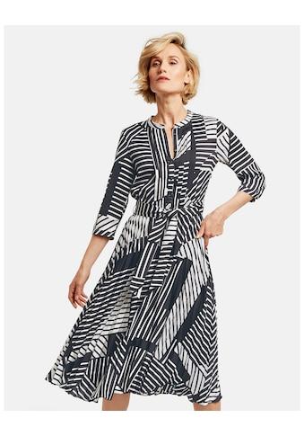 GERRY WEBER Kleid Gewebe »Kleid mit grafischem Muster« kaufen