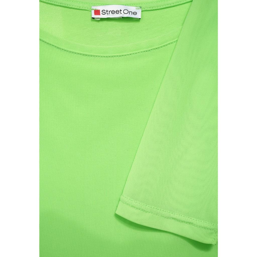 STREET ONE Langarmshirt, soft und weich