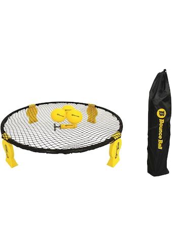 L.A. Sports Trampolinnetz »Bounce Ball Deluxe Set«, (Set, 8 St., Rundnetz, Tragetasche, 3 Spielbälle, Ballpumpe, Anleitung) kaufen