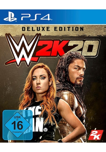 WWE 2K20  -  Deluxe Edition PlayStation 4 kaufen