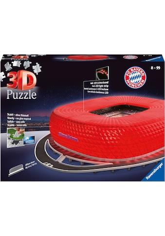 Ravensburger 3D-Puzzle »Allianz Arena Night Edition«, Made in Europe, FSC® - schützt... kaufen