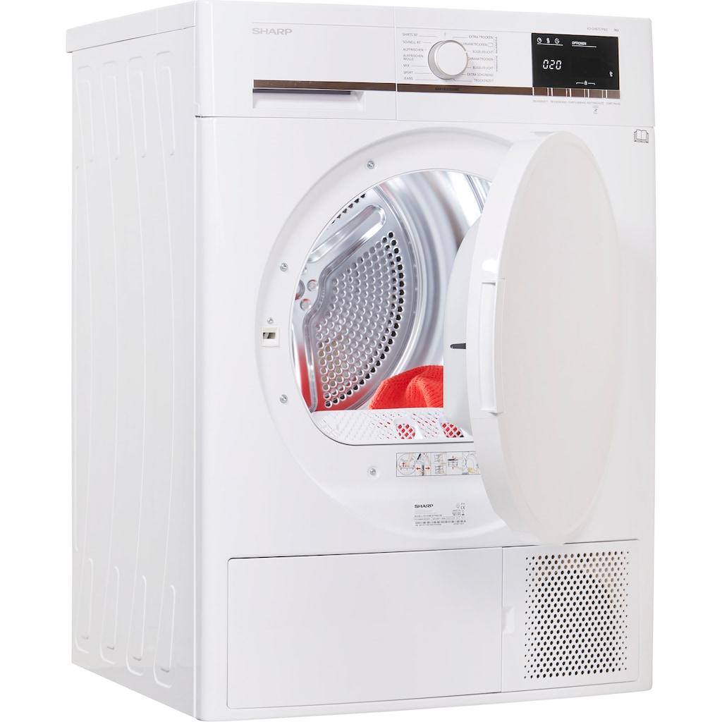 Sharp Wärmepumpentrockner »KD-GHB7S7PW2-DE«