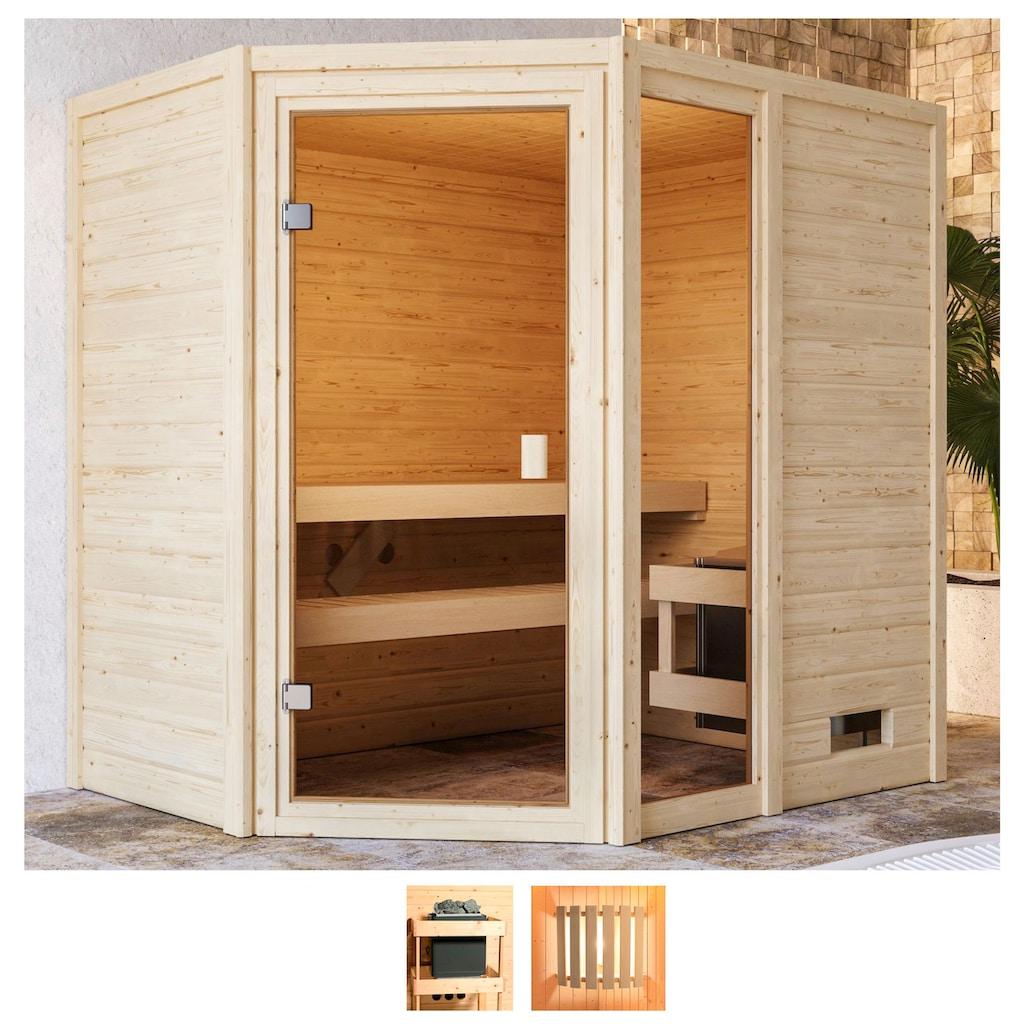 Karibu Sauna »Josie«, ohne Ofen