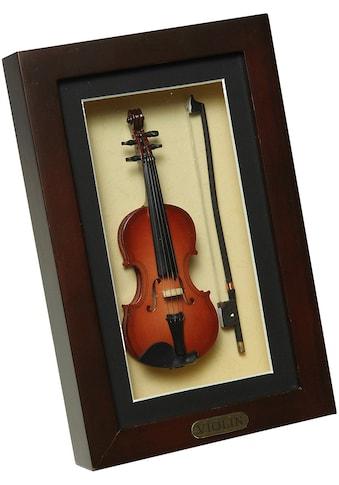 Ambiente Haus Dekofigur »Geige im Rahmen 22x14cm« kaufen