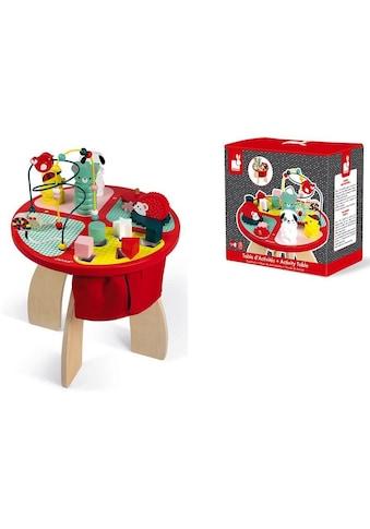 Janod Spieltisch »Baby Forest Activity Tisch« kaufen