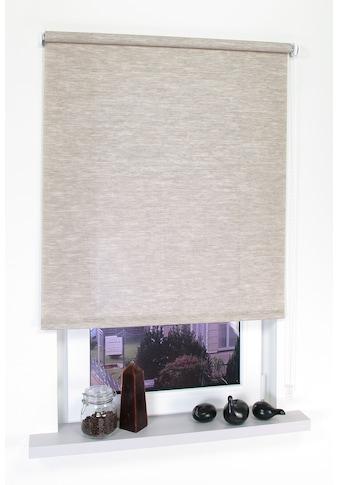 Seitenzugrollo »Dekor Struktur«, Liedeco, Lichtschutz, ohne Bohren kaufen