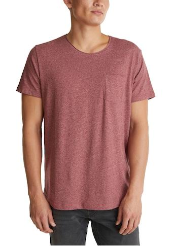 edc by Esprit T-Shirt, in melierter Optik kaufen