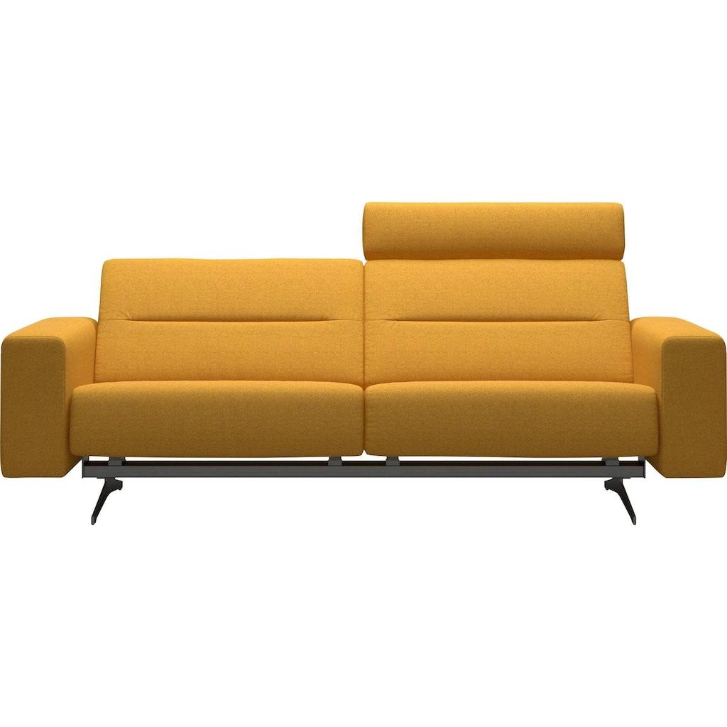 Stressless® 2,5-Sitzer »Stella«, mit Zwischennaht im Rücken, Armlehnen S1, Fuß Chrom, Breite 227 cm