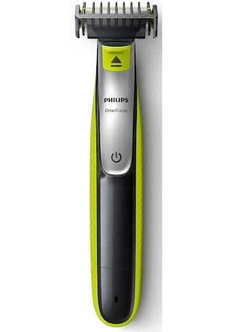Philips Elektrorasierer »OneBlade QP2530/30«, 4 St. Aufsätze, wiederaufladbar, nass... kaufen