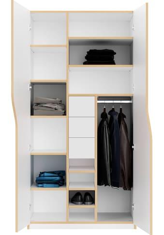 Müller SMALL LIVING Kleiderschrank »PLANE Ausstattung Nr. 6« kaufen
