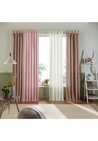 Vorhang, »Trier«, Home affaire, Multifunktionsband 1 Stück kaufen