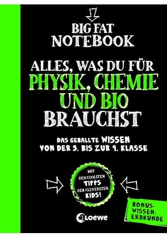 Buch »Big Fat Notebook - Alles, was du für Physik, Chemie und Bio brauchst - Das... kaufen
