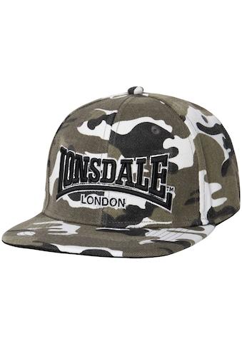 Lonsdale Snapback Cap »MERIDEN«, in coolem Tarnmuster kaufen