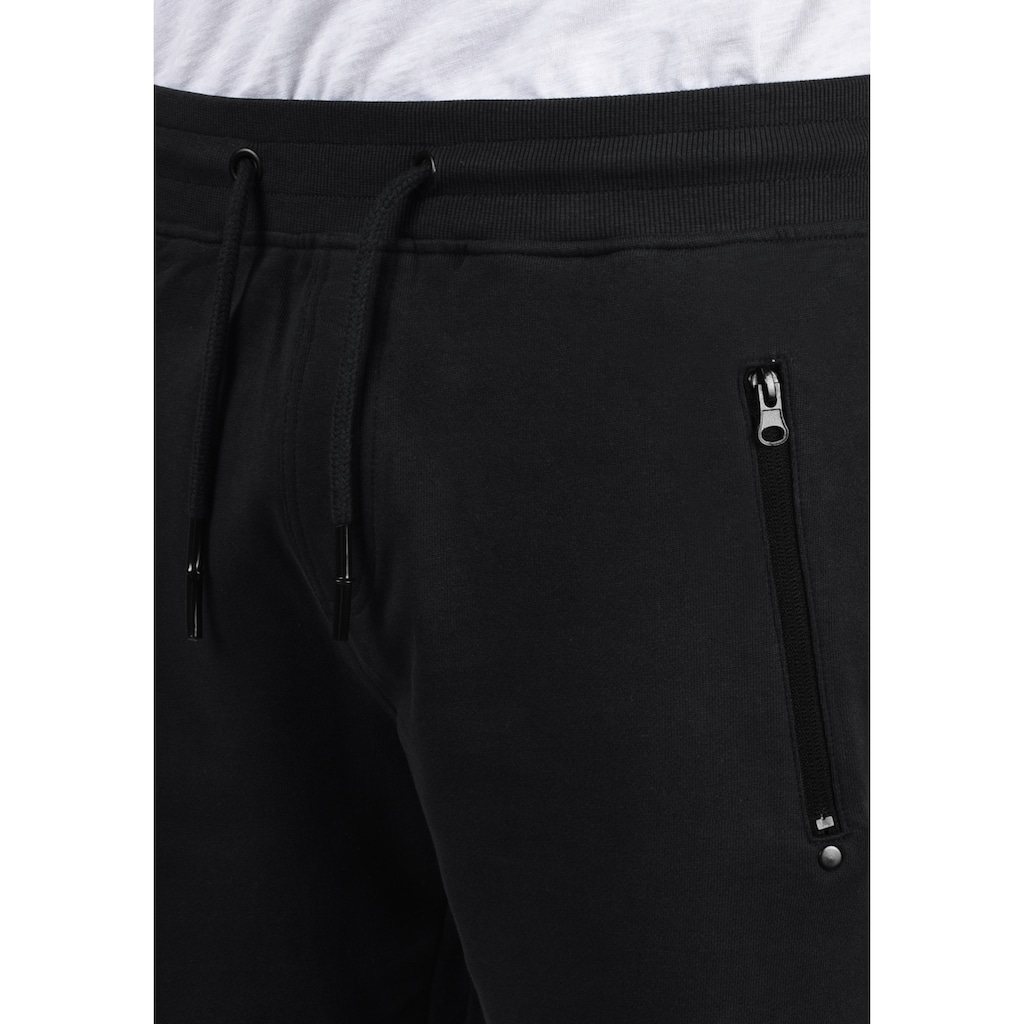 Solid Sweatshorts »Taras«, kurze Hose mit Reißverschlusstaschen